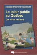 Pdf Le loisir public au Québec Telecharger