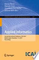 Applied Informatics Book