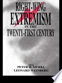 Right Wing Extremism In The Twenty First Century