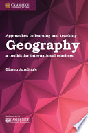 Books - New Approaches To Learning And Teaching Geography | ISBN 9781316640623
