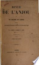 Revue de l'Anjou et de Maine et Loire