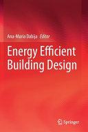 Energy Efficient Building Design