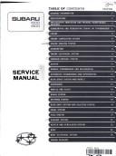Subaru Service Manual