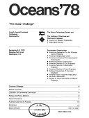 Oceans 78 Book PDF