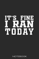Marathon Training Notebook