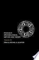 Advances In Archaeological Method And Theory Book PDF