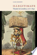Illegitimate Theatre in London, 1770-1840