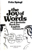 The Joy of Words Book