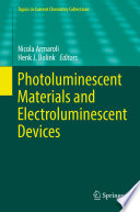 Photoluminescent Materials and Electroluminescent Devices Book