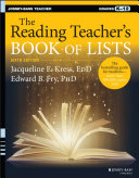 The Reading Teacher's Book of Lists
