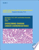 Overcoming Ovarian Cancer Chemoresistance Book