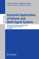 Pdf Industrial Applications of Holonic and Multi-Agent Systems Telecharger