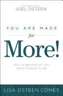 You Are Made for More! Pdf/ePub eBook