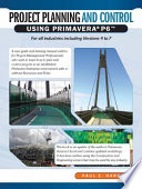 Project Planning and Control Using Primavera
