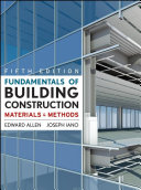 Fundamentals Of Building Construction Subscription Ebook Book