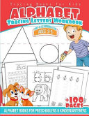 Tracing Books for Kids Alphabet Letters Workbook