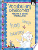 Vocabulary Development Activities And Games For Early Learners
