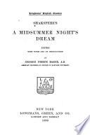Shakespere S A Midsummer Night S Dream