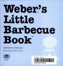 Weber s Little Barbecue Book Book PDF