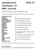 Alphabetical Catalog