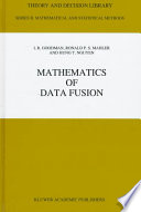 Mathematics Of Data Fusion Book PDF