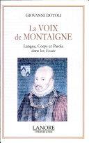 La voix de Montaigne [Pdf/ePub] eBook