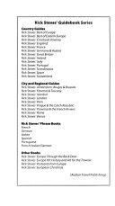 Rick Steves Best Of Europe 2008