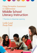 Using Formative Assessment To Differentiate Middle School Literacy Instruction Book PDF