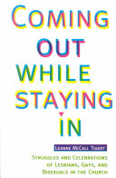 Coming Out While Staying in Book