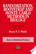 Randomization  Bootstrap and Monte Carlo Methods in Biology  Second Edition