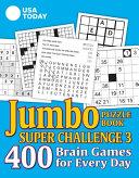 USA Today Jumbo Puzzle Book Super Challenge 3  Volume 30