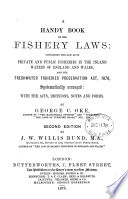 A Handy Book Of The Fishery Laws