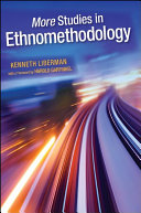 More Studies in Ethnomethodology