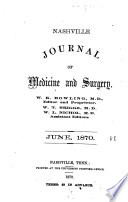 Nashville Journal of Medicine and Surgery Book