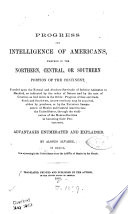 Progress and Intelligence of Americans Book