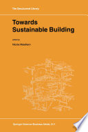 Towards Sustainable Building Book