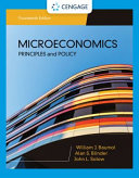 Microeconomics: Principles & Policy