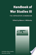 Handbook of War Studies III