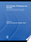 Knowledge  Pedagogy and Society