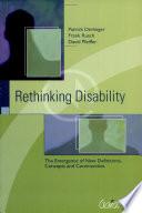 Rethinking Disability Book PDF