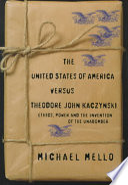 The United States of America Versus Theodore John Kaczynski