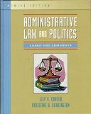 Administrative Law And Politics