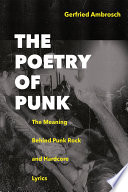 The Poetry of Punk