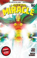 Mister Miracle banner backdrop