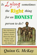 Is Lying Sometimes the Right Thing for an Honest Person to Do  Book PDF