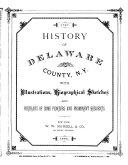 History of Delaware County, N. Y.