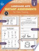 Instant Assessments for Data Tracking  Grade 1