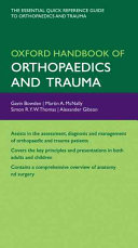 Oxford Handbook of Orthopaedics and Trauma