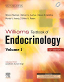Williams Textbook of Endocrinology  14 Edition  South Asia Edition  2 Vol Set   E Book
