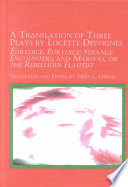 Translation of 3 Plays by Lucette Desvignes